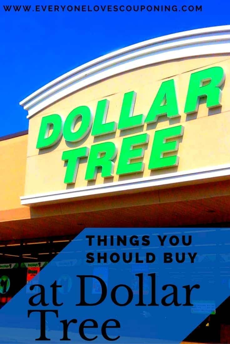 Things You SHOULD Buy at the Dollar Tree