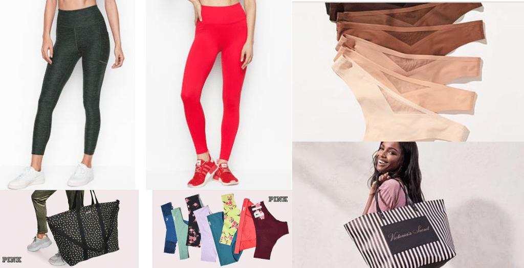 Victoria's Secret: $25 Leggings, Free Panties, Free Tote + More!