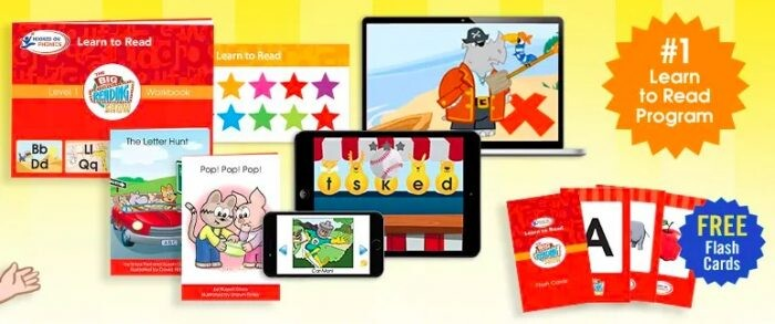 Hooked on Phonics Trial: 1-Month Access for just $1!