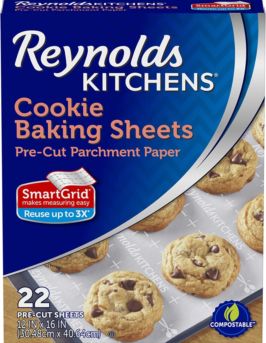 Reynolds Kitchens Non-Stick Baking Parchment Paper Sheets, 22 Count  – ON SALE➕SUB/SAVE!