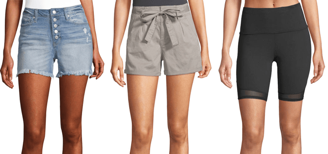 Women's Shorts Starting at Just $7.99 at JCPenney (Reg $22)