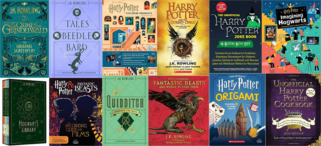 Amazon: Buy 2 Harry Potter Books, Get 1 FREE + MORE!