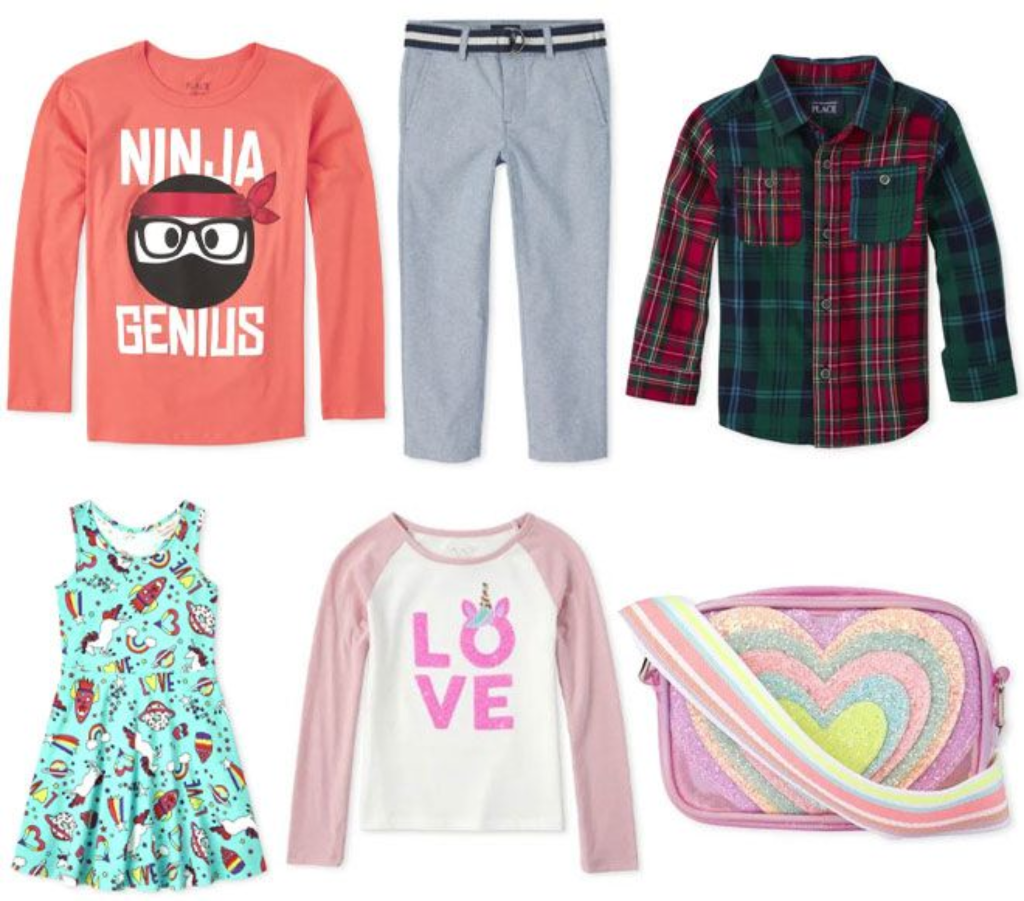 The Children's Place Apparel Up to 80% Off Clearance + FREE Shipping