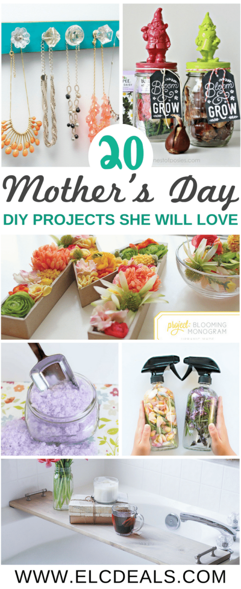 20 Mother's Day DIY Projects She Will Love