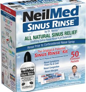 FREE NeilMed Sinus Rinse or Neti Pot