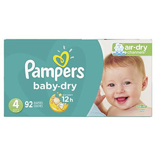 Pampers Baby Dry Disposable Baby Diapers Up to 41% Off! Was $41.29 ($0.45 / Count)!
