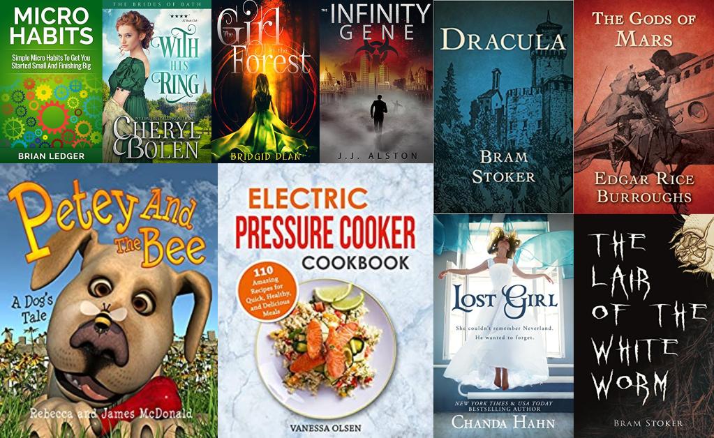 Today's BIG List of Free Kindle eBooks!