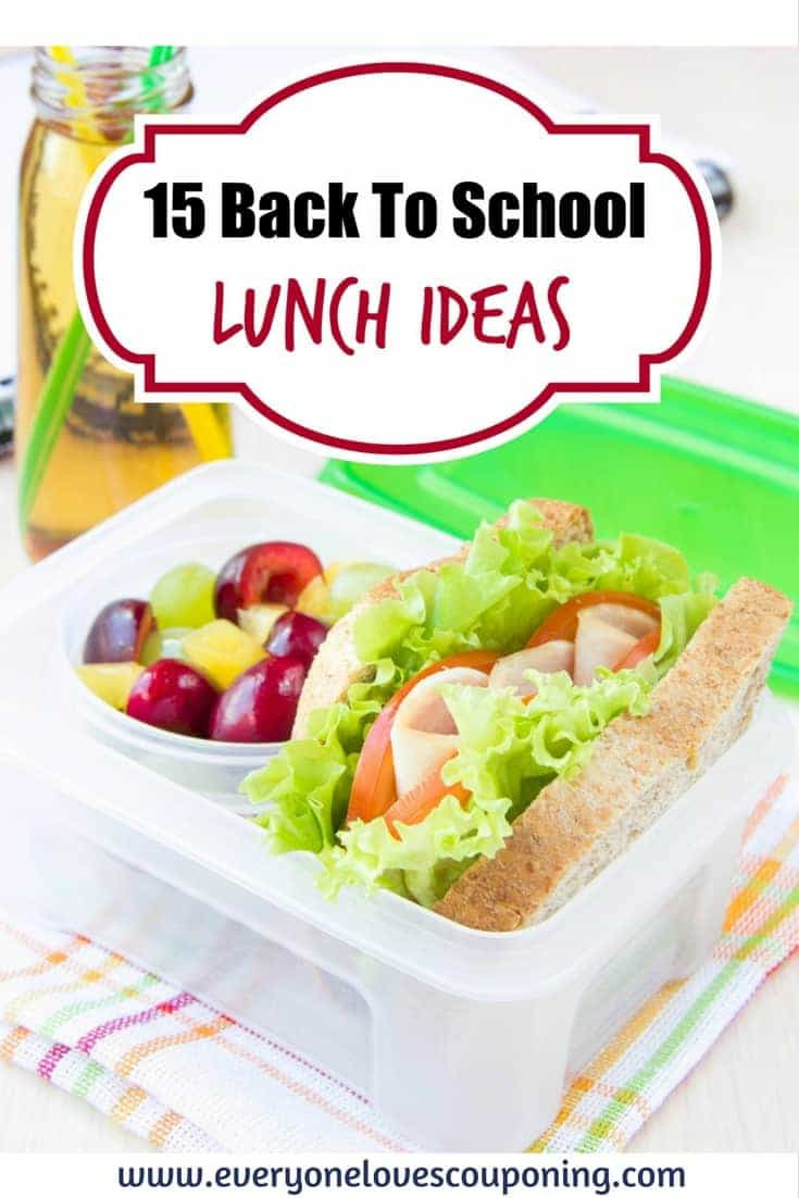 15 Back To School Lunch Ideas!