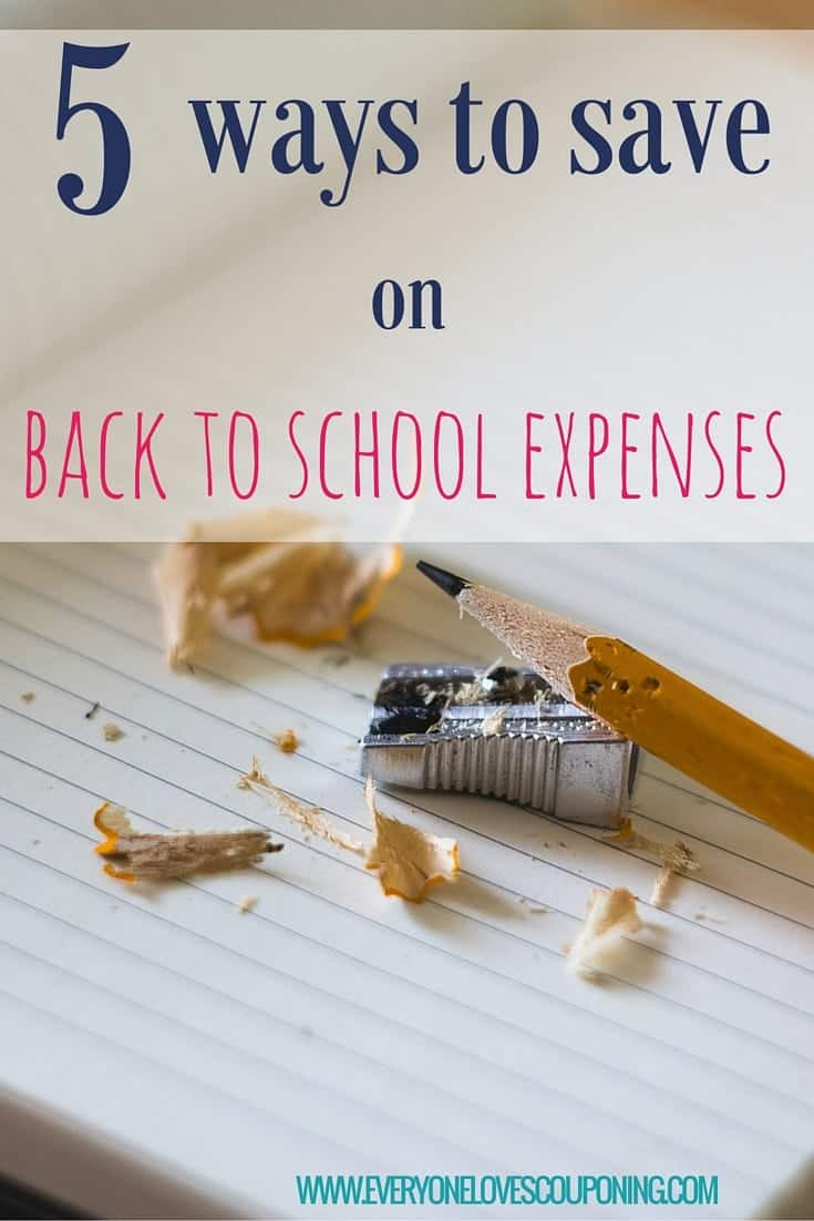 5 Ways to Save on Back-To-School Supplies!