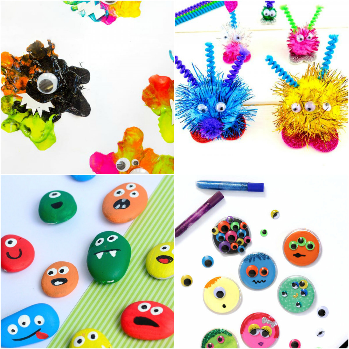 15 Monster Crafts For Kids