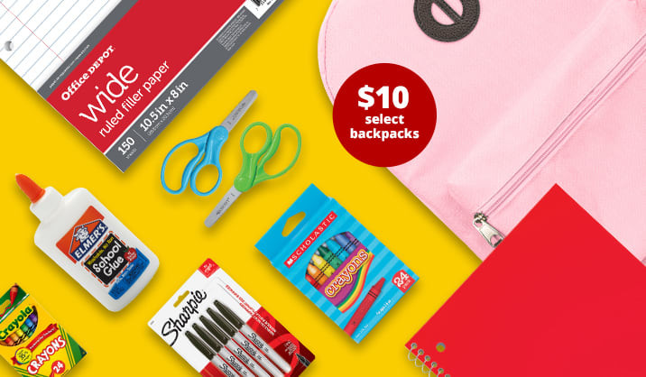 Office Depot 3-Day Flash Sale: Up to an Extra 75% off School & Office Supplies
