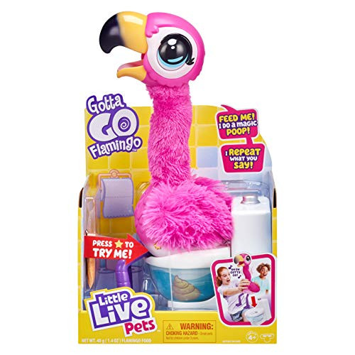 Little Live Pets Gotta Go Flamingo  – 33% PRICE DROP+SUB/SAVE!