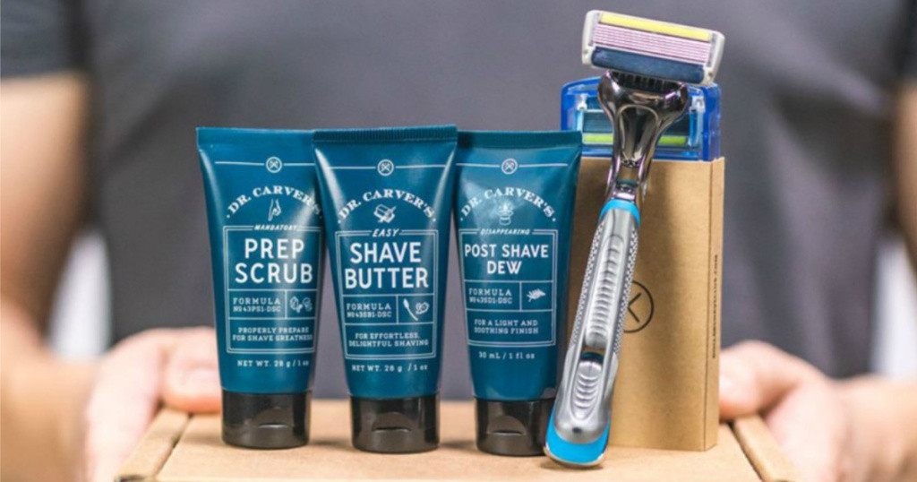 Dollar Shave Club Kit w/ Razor, Refills, & Shave Butter Only $5 Shipped!!