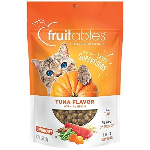 Fruitables Tuna and Pumpkin Crunchy Cat Treats – 38% PRICE DROP+SUB/SAVE!