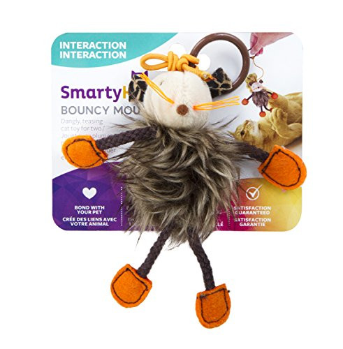 SmartyKat Bouncy Mouse Cat Toy Bungee Toy – 67% PRICE DROP+SUB/SAVE!