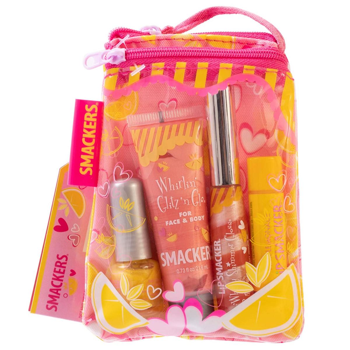 Smackers Pink Lemonade Glam Bag Makeup Set  – 20% PRICE DROP+SUB/SAVE!