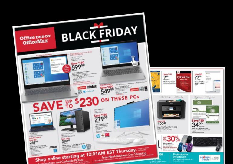 Best Office Depot Black Friday Deals + Ad Scan!