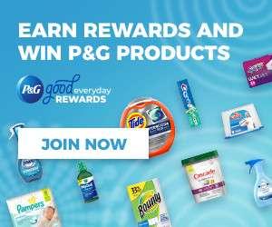 *NEW* P&G Good Everyday Rewards Program!