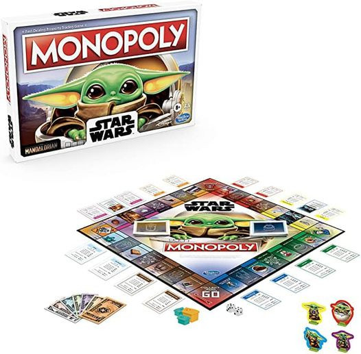 44% Off Monopoly: Star Wars The Child Edition Board Game for Families and Kids Ages 8 and Up, Featuring The Child, Who Fans Call Baby Yoda! Was $19.99!