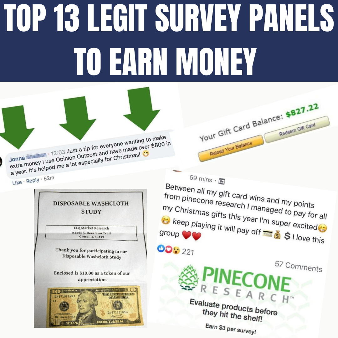 13 Best Survey Panels To Earn Money!