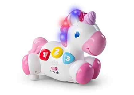 50% Off Bright Starts Rock & Glow Unicorn Toy! Was $19.99!
