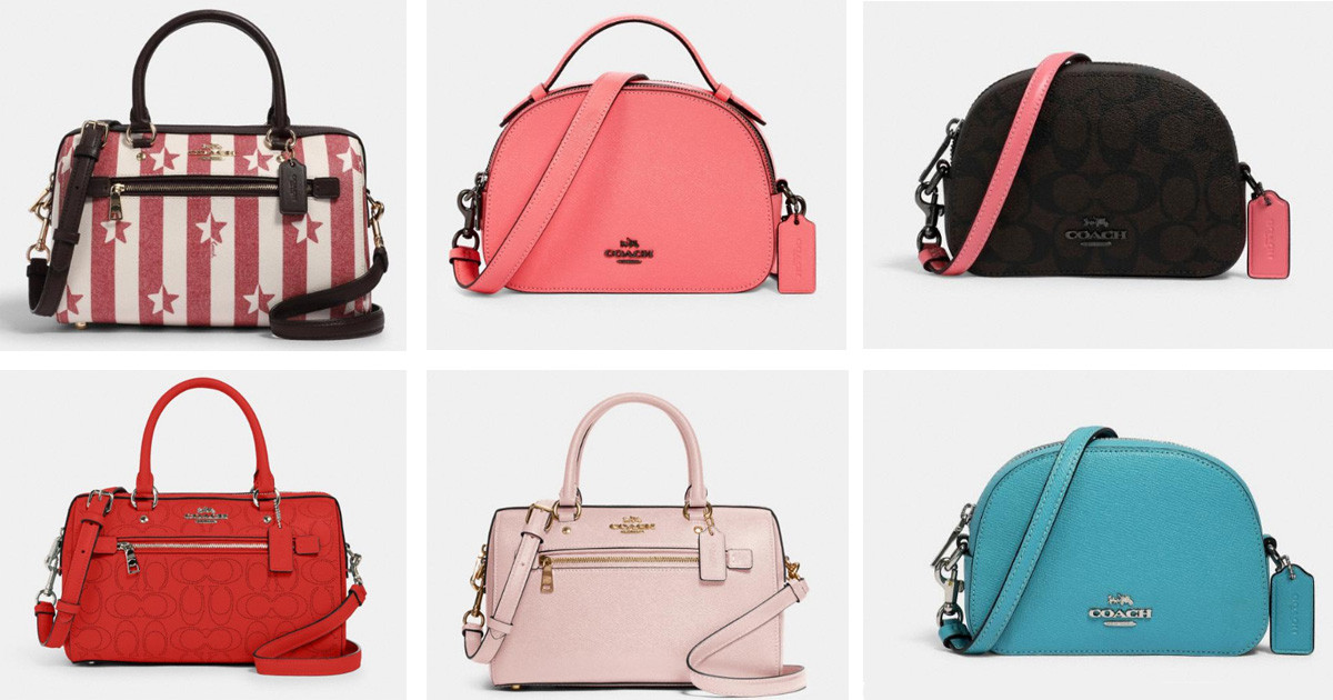 COACH OUTLET FLASH SALE! Up to 70% Off + Extra 20% Off!
