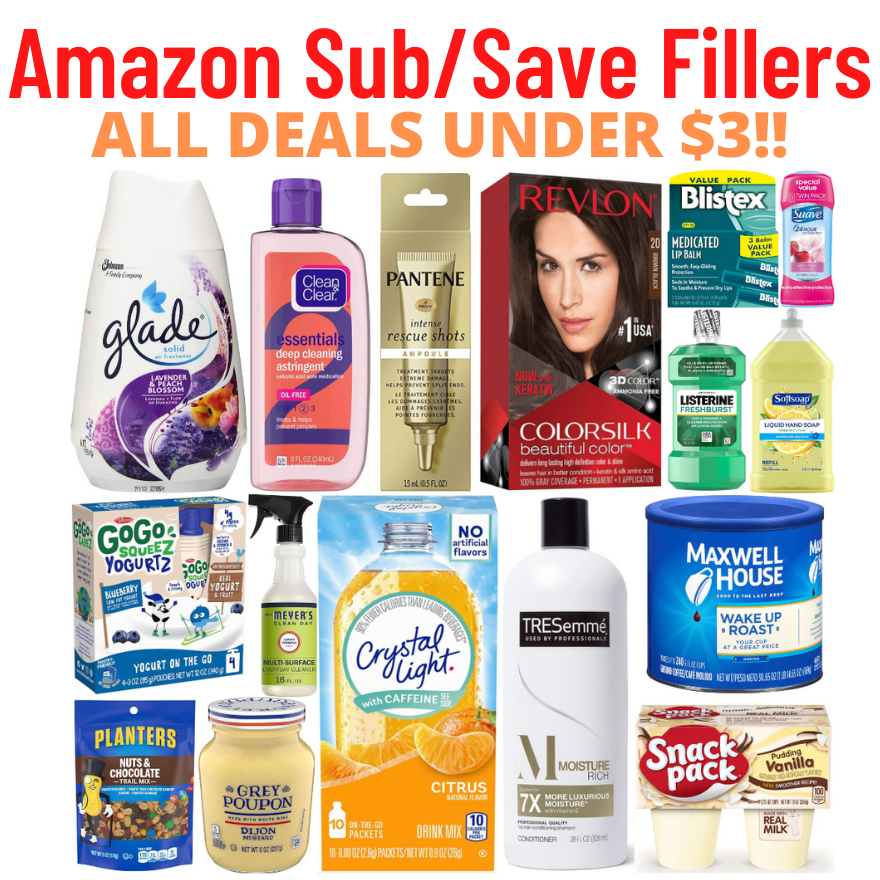 *UNDER $3* BEST Amazon Subscribe & Save Deals!