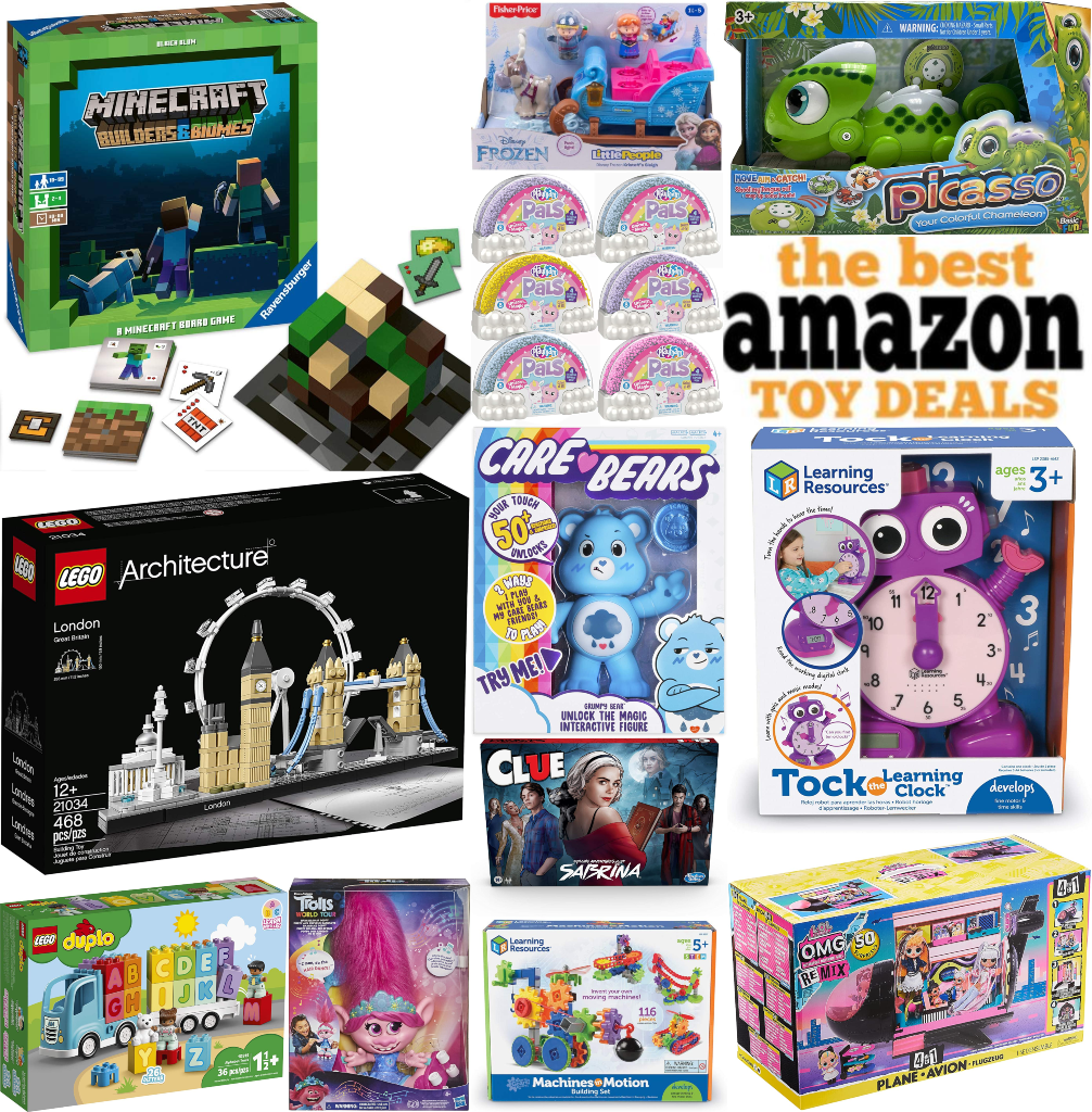 Amazon's BEST Toy Deals – Updated 4/27/2021!
