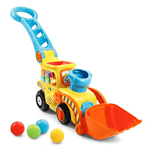29% Off VTech Pop-a-Balls Push & Pop Bulldozer,Yellow! Was $27.99!