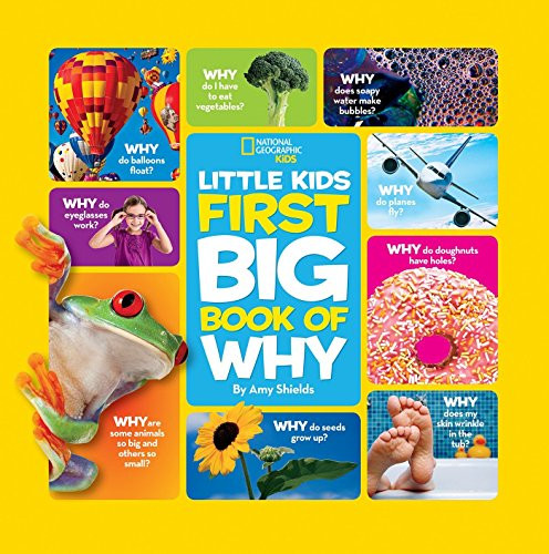 58% Off National Geographic Little Kids First Big Book of Why (National Geographic Little Kids First Big Books)! Was $14.95!