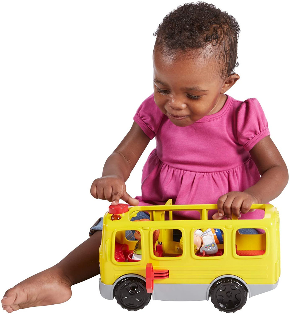34% Off Fisher-Price Little People Sit with Me School Bus Vehicle! Was $14.99!