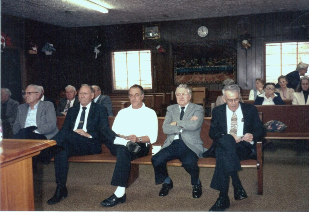 Carl Back, Homer Smith, Allen Whitaker, ID Back, Ellis Adams
