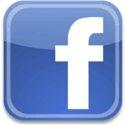 small facebook button