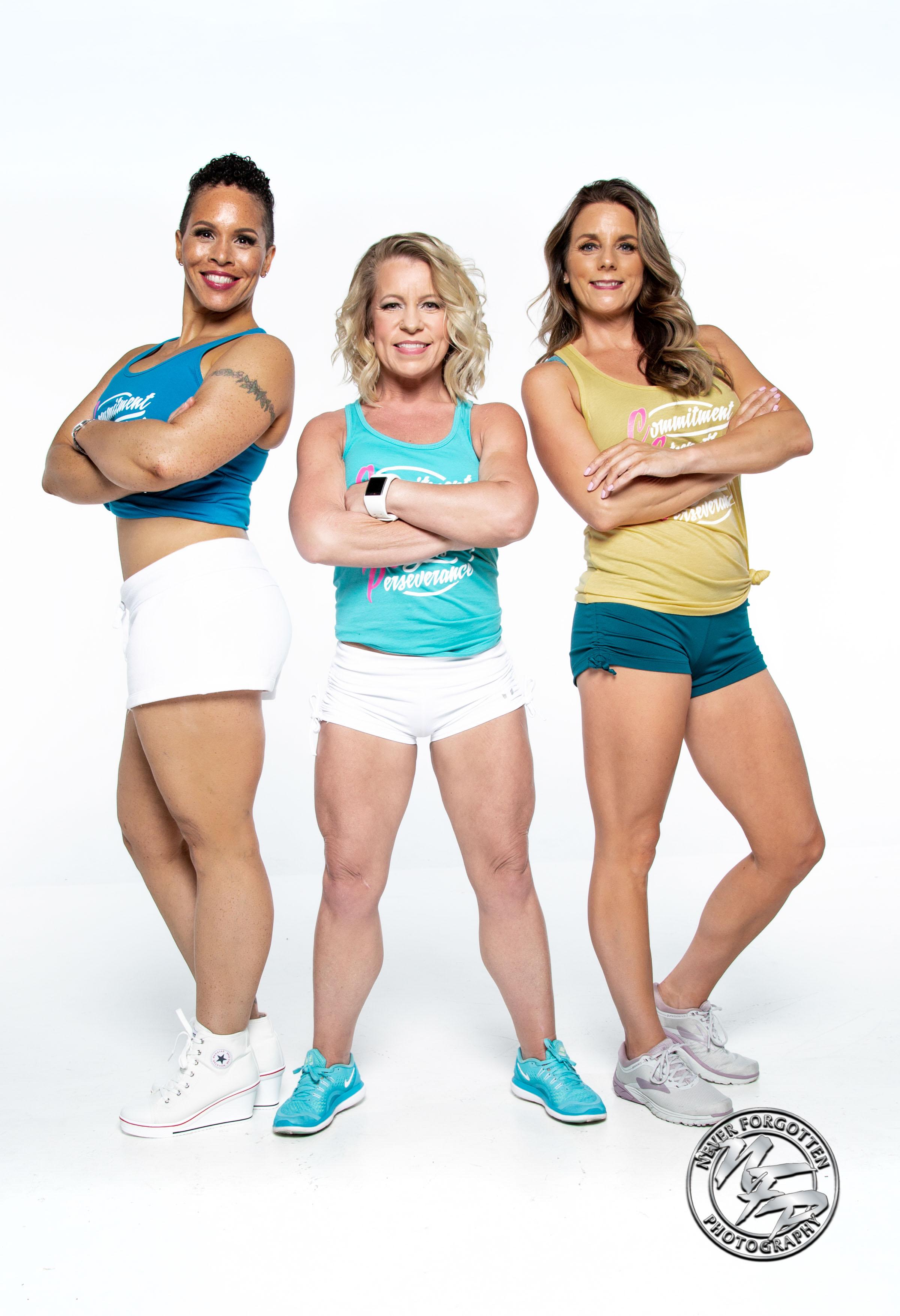 Raima, Tina and Brandi