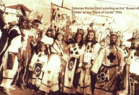 Sidonia Carnival Group 1954
