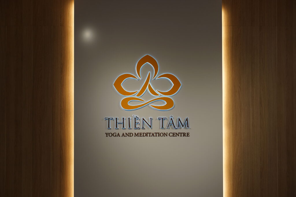 Thien Tam - Yoga and Meditation Centre Wall Logo