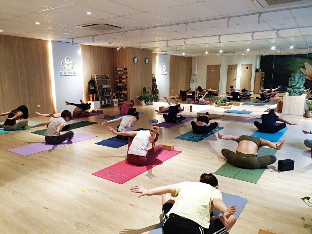 Thien Tam Yoga Members