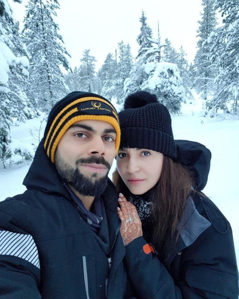 Virat Anushka Honeymoon Photos