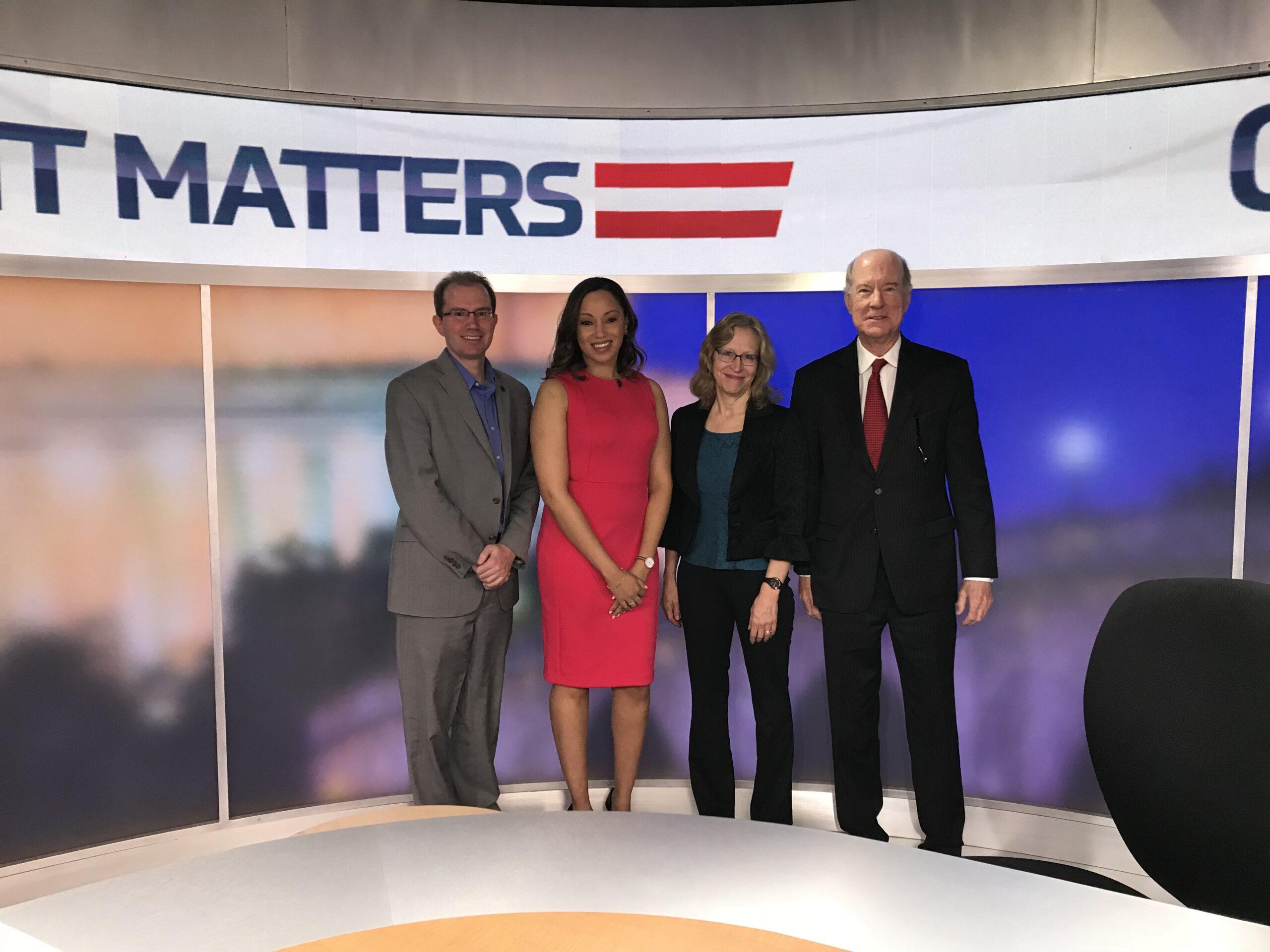 Molly Jahn, Greg Treverton Government Matters
