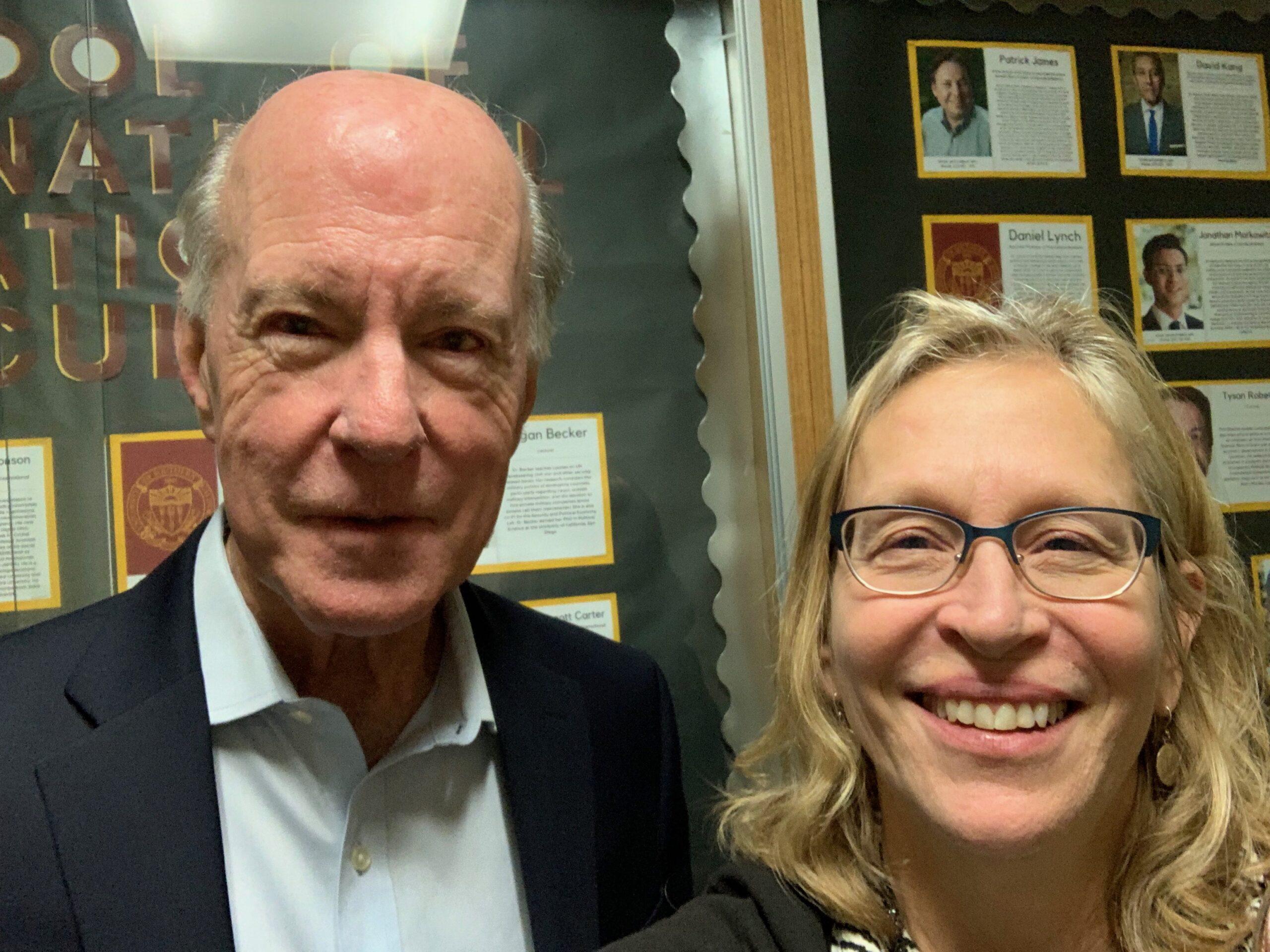 Molly Jahn and Greg Treverton