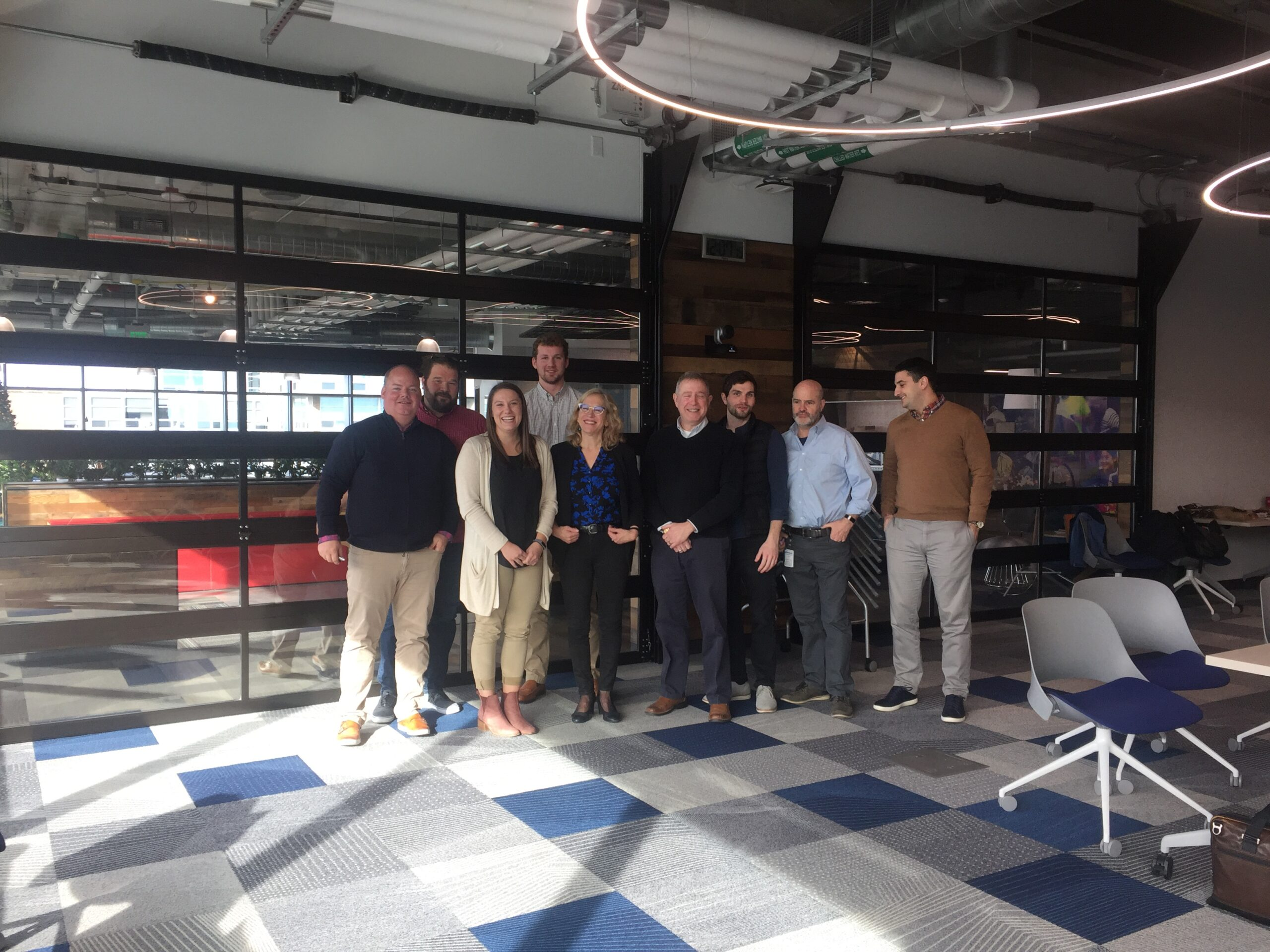 Jahn Research Group visit with AmFam team
