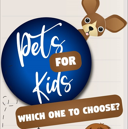 Pets For Kids – Which One to Choose? – An Infographic