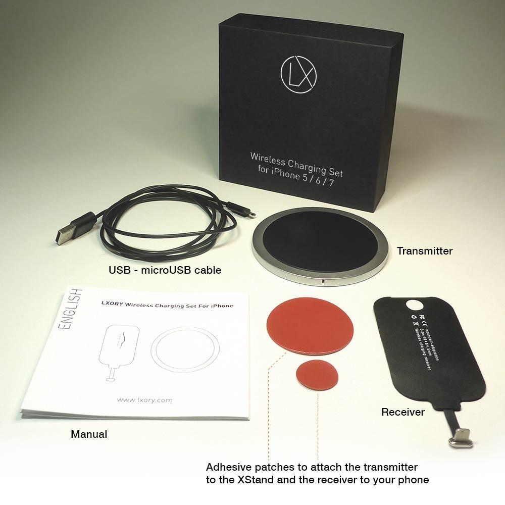 Lxory QI Wireless charging set
