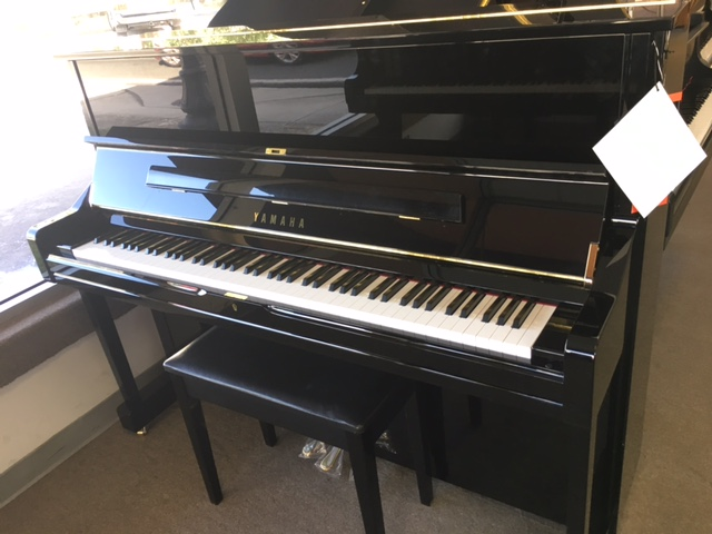 Yamaha U1 Polished Ebony Upright Piano