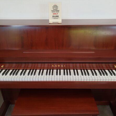 Kawai 506N 44 1/2″ Studio Piano Mahogany