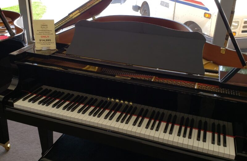 1995 Yamaha Conservatory Model C3 6'1″ Polished Ebony