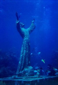 Upper Florida Keys Christ of the Abyss