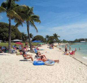 Florida Keys Beaches sand beach