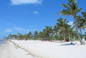 Smathers Beach - Florida Keys Beaches - sand beach