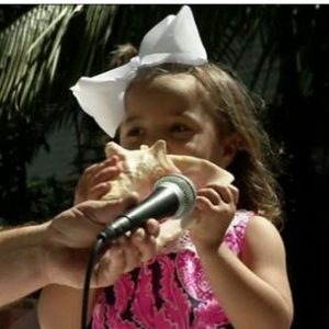 Conch Shell Blowing Contest Key West